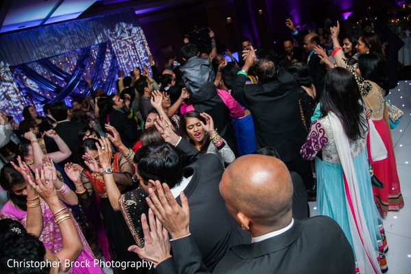 Reception in Greenville, SC Indian Wedding by Christopher Brock Photography