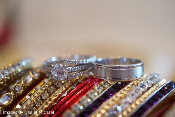 Diamond Ring in Indianapolis, IN Indian Wedding by Images by Daniel Michael