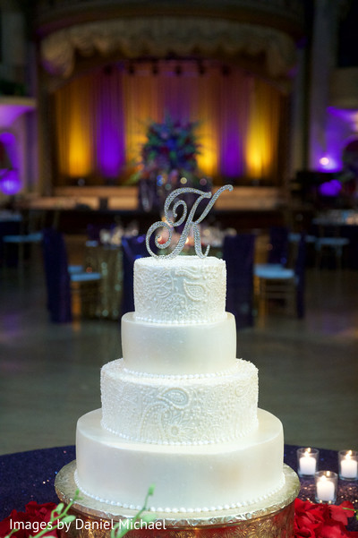 Wedding Cake in Indianapolis, IN Indian Wedding by Images by Daniel Michael
