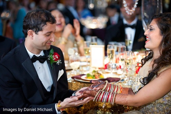 Reception in Indianapolis, IN Indian Wedding by Images by Daniel Michael