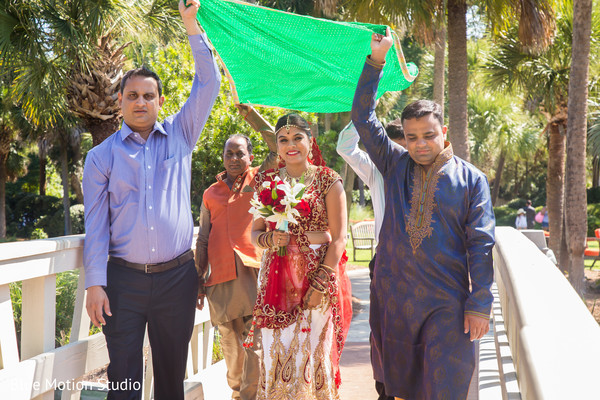 Outdoor Ceremony in Hilton Head Island, SC Indian Wedding by Afterglow Creative