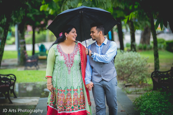 Pre-Wedding Portraits in Kuala Lumpur, Malaysia Indian Wedding by JD Arts Photography