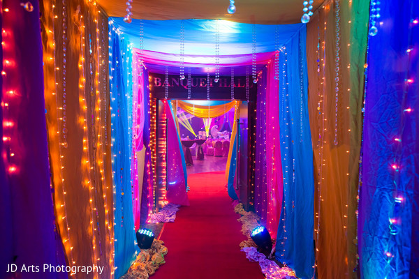Kuala lumpur malaysia indian wedding by jd arts photography vibrant fabrics are meticulously drapped behind the pre wedding stage and the cieling and weve got so much more ahead but meanwhile head over to the junglespirit Choice Image