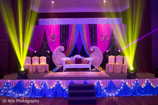 sangeet,sweetheart stage,sangeet decor,floral and decor