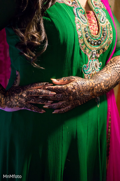 Mehndi in Houston, TX Indian Wedding by MnMfoto