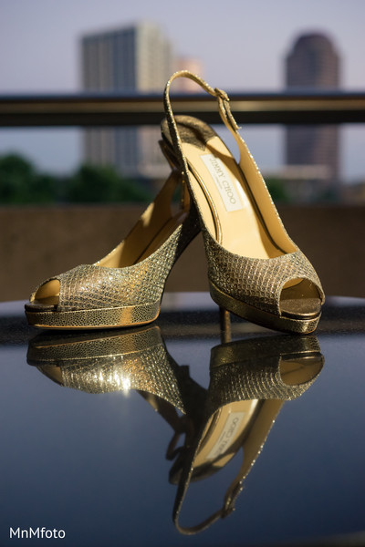 Shoes in Houston, TX Indian Wedding by MnMfoto