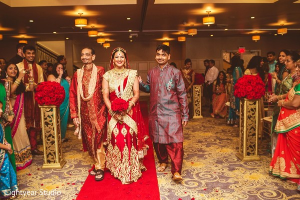 Ceremony in Somerset, NJ Indian Wedding by Lightyear Studio