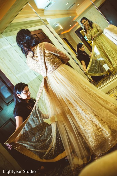 getting ready,reception fashion,lengha