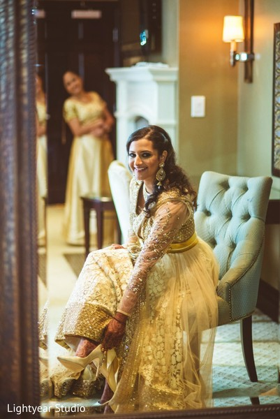 getting ready,hair and makeup,reception fashion,lengha