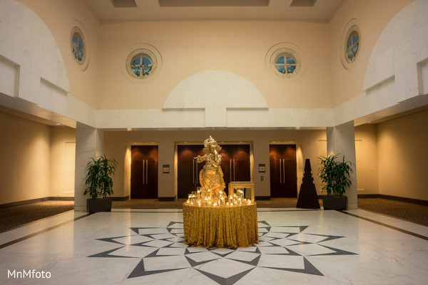 Venue in Houston, TX Indian Wedding by MnMfoto