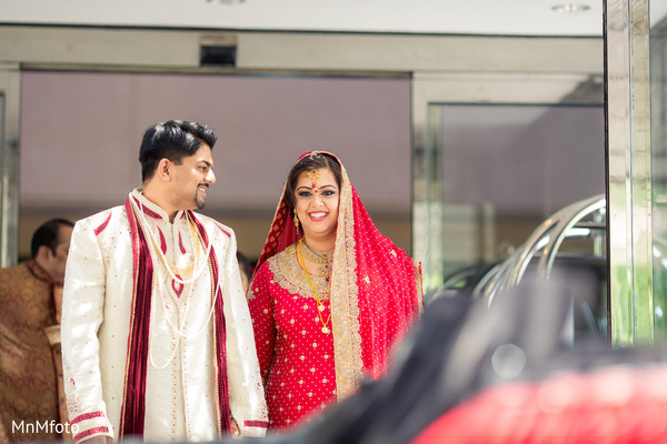 Ceremony in Houston, TX Indian Wedding by MnMfoto