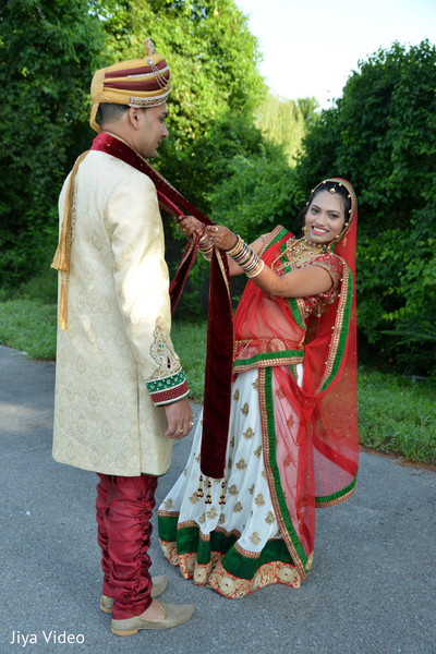 First Look in Nashville, TN Indian Wedding by Jiya Video