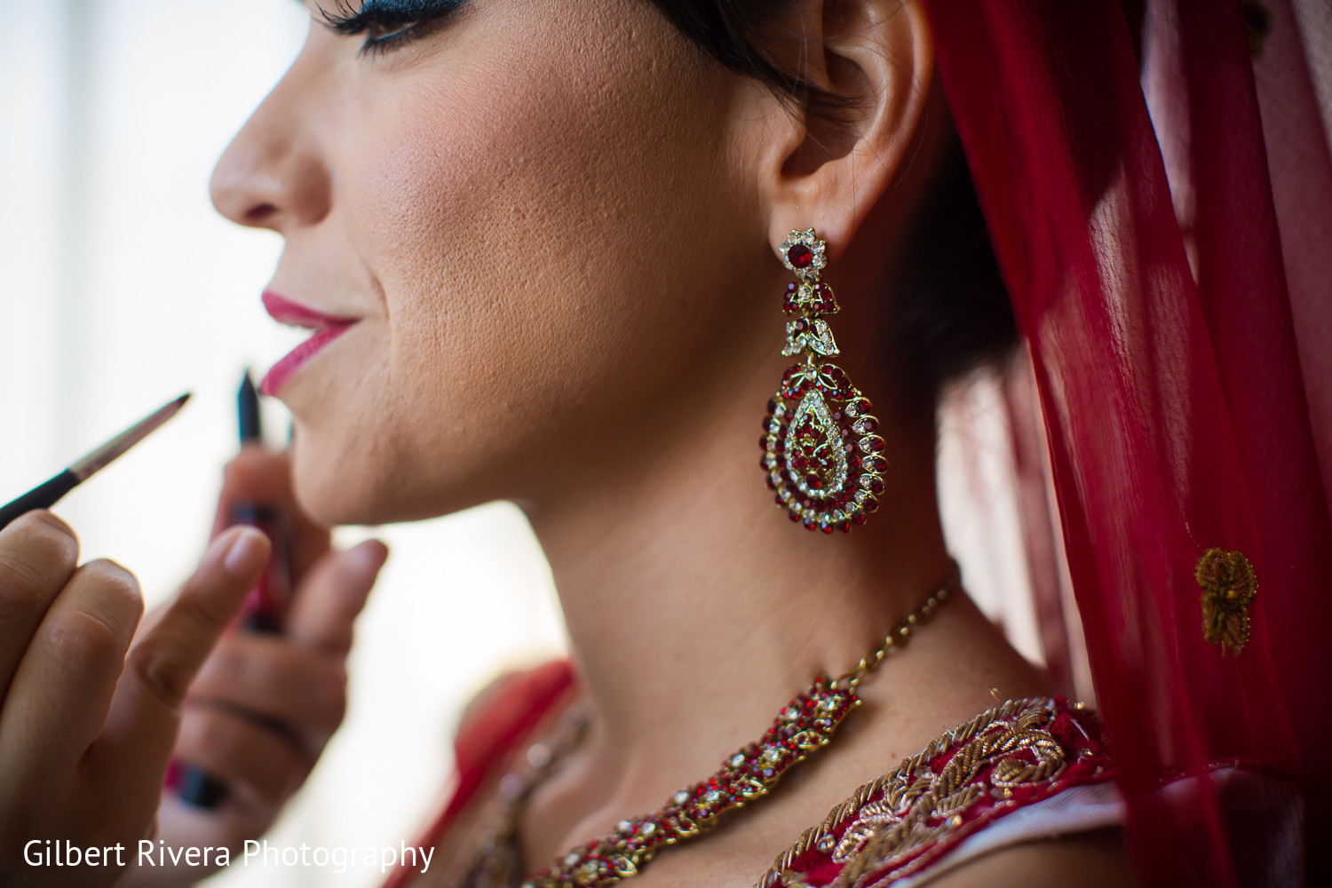 Getting ready in glendale ca indian fusion wedding by for Indian jewelry in schaumburg il
