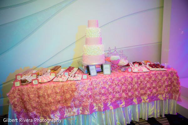 Dessert Table in Glendale, CA Indian Fusion Wedding by Gilbert Rivera Photography