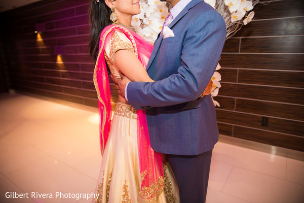 Reception Portrait in Glendale, CA Indian Fusion Wedding by Gilbert Rivera Photography