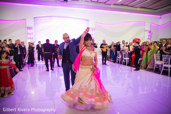 Reception in Glendale, CA Indian Fusion Wedding by Gilbert Rivera Photography