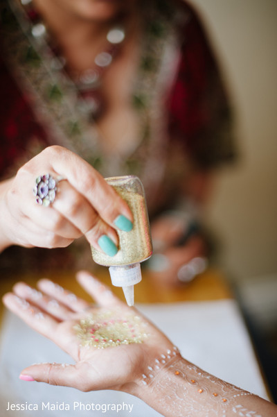 Mehndi in Washington, D.C. Indian Fusion Wedding Styled Shoot by Jessica Maida Photography