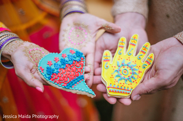 Cookies in Washington, D.C. Indian Fusion Wedding Styled Shoot by Jessica Maida Photography