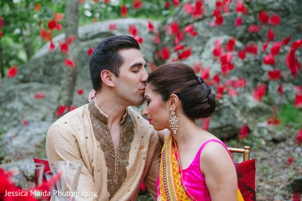 Wedding Portraits in Washington, D.C. Indian Fusion Wedding Styled Shoot by Jessica Maida Photography