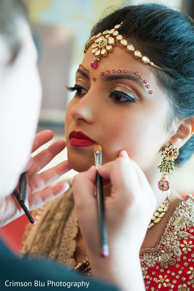 getting ready,tikka,hair and makeup