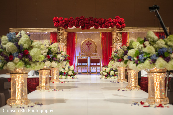 Indian Wedding Ceremony Hindu Mandap