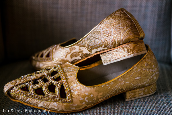 Groom Shoes in Dana Point, CA Indian Wedding by Lin & Jirsa Photography
