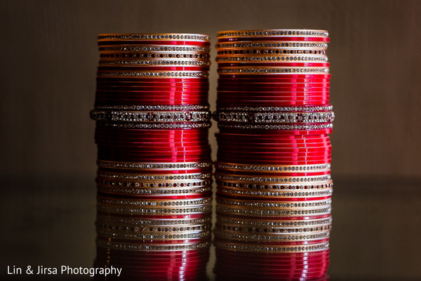 Bangles in Dana Point, CA Indian Wedding by Lin & Jirsa Photography