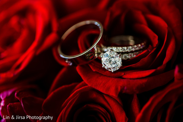 Rings in Dana Point, CA Indian Wedding by Lin & Jirsa Photography