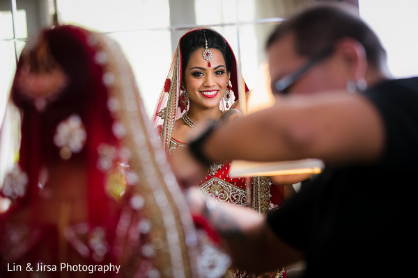 Getting Ready in Dana Point, CA Indian Wedding by Lin & Jirsa Photography