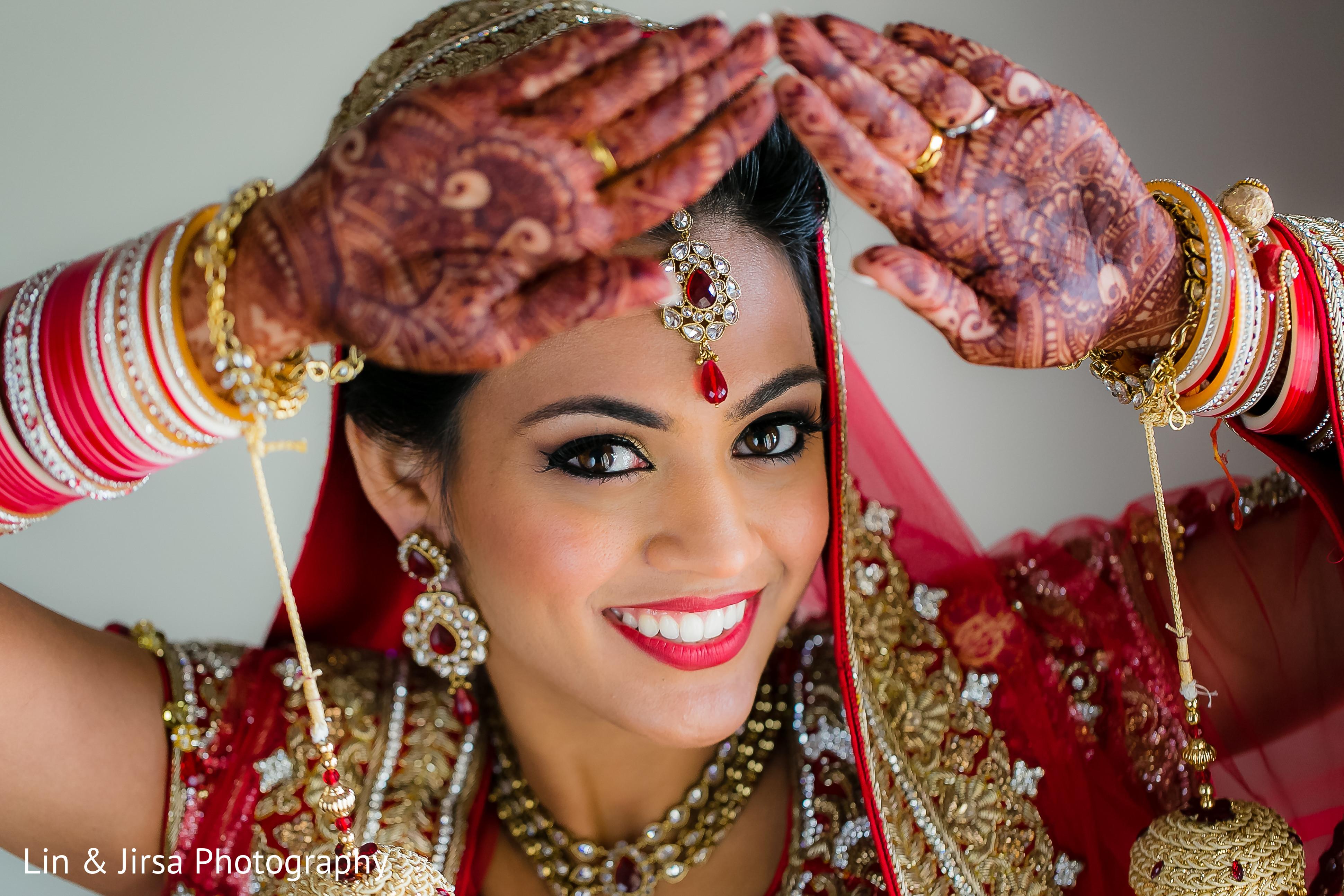 Mehndi Bridal Photoshoot : Bridal portrait in dana point ca indian wedding by lin jirsa