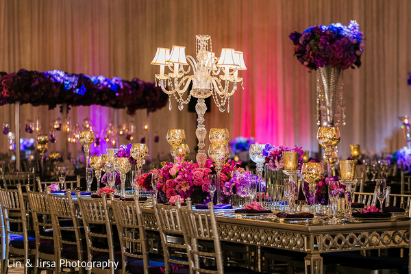 Floral & Decor in Dana Point, CA Indian Wedding by Lin & Jirsa Photography