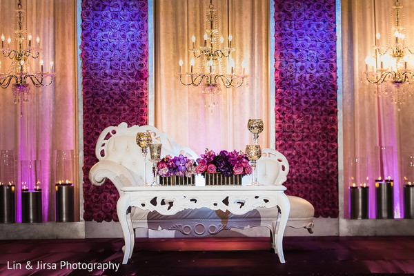 Sweetheart Stage in Dana Point, CA Indian Wedding by Lin & Jirsa Photography