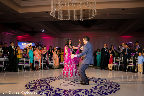 Reception in Dana Point, CA Indian Wedding by Lin & Jirsa Photography