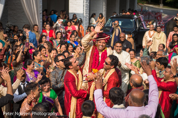 Baraat in Atlanta, GA Indian Wedding by Peter Nguyen Photography