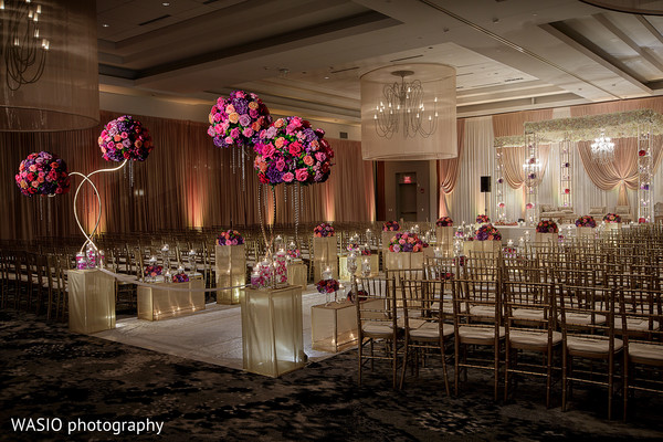Ceremony in Columbus, OH Indian Wedding by WASIO Photography