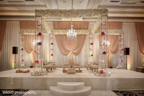 indian wedding ceremony,ceremony,indian wedding,mandap,ceremony decor,floral and decor,flowers,ceremony mandap,venue,ceremony venue