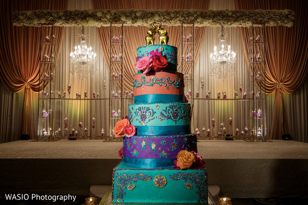 Reception in Columbus, OH Indian Wedding by WASIO Photography