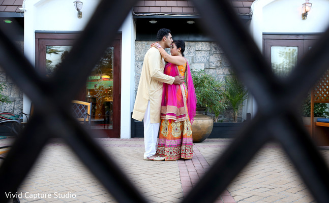 indian sangeet,indian pre-wedding fashion,indian wedding lengha,indian groom sherwani,indian wedding party portraits