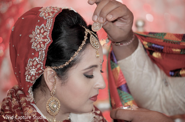 Indian Ceremony in Queens, NY Indian Wedding by Vivid Capture Studio