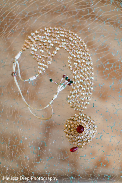 Bridal Jewelry in Lincolnshire, IL Indian Wedding by Melissa Diep Photography