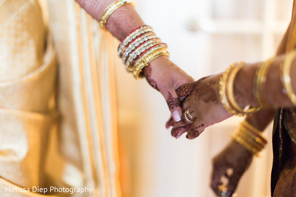 Getting Ready in Lincolnshire, IL Indian Wedding by Melissa Diep Photography