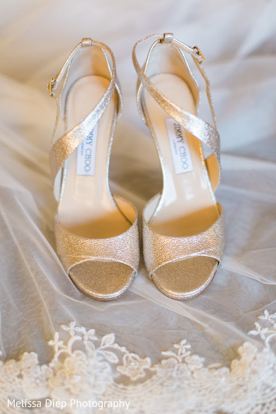 Shoes in Lincolnshire, IL Indian Wedding by Melissa Diep Photography