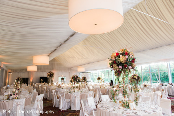 Floral & Decor in Lincolnshire, IL Indian Wedding by Melissa Diep Photography