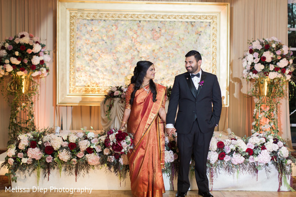 Reception in Lincolnshire, IL Indian Wedding by Melissa Diep Photography