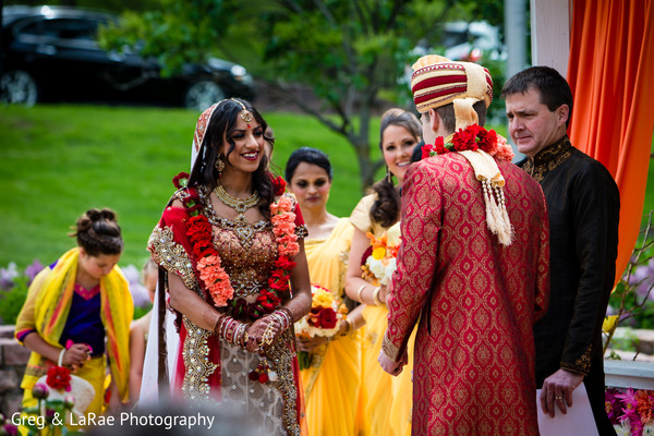 fusion,outdoor,ceremony,outdoor ceremony,indian fusion wedding ceremony