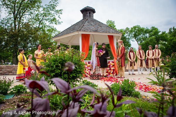 fusion,outdoor,ceremony,outdoor ceremony,indian fusion wedding ceremony,mandap