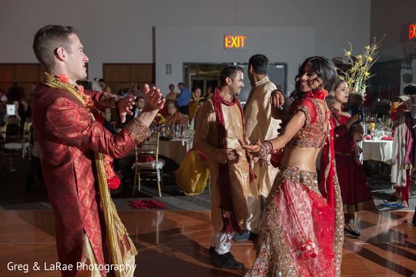 indian fusion reception,reception,reception fashion