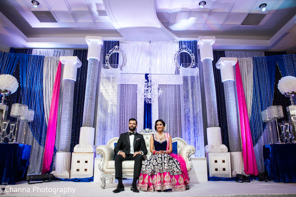 indian wedding reception,reception,reception decor,reception fashion,floral and decor,sweetheart stage