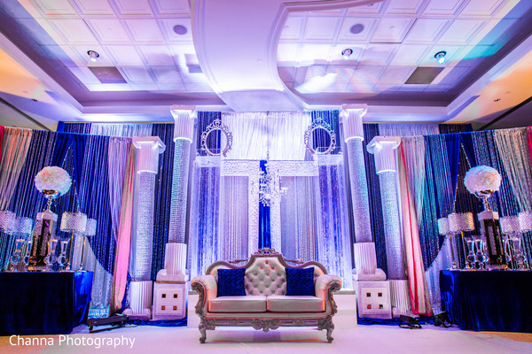 Reception in Toronto, Canada Sikh Indian Wedding by Channa Photography