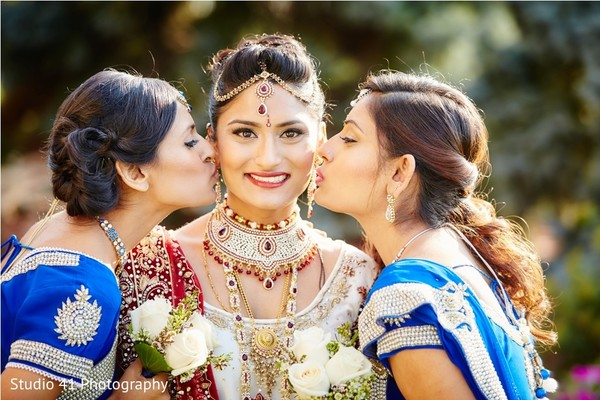 indian wedding first look,indian wedding first look portraits,indian wedding portraits,indian bridesmaids,indian bridal hair and makeup